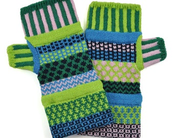 Solmate Accessories - Water Lily Fingerless Mittens Limited - Available to order through midnight November 27th!