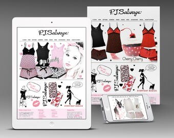 Custom eCommerce Website Design with Custom Graphics