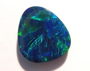 Stunning Blues and Greens Australian Opal Doublet (#2704)