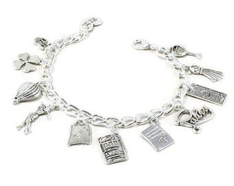 Gambling Bracelet Las Vegas Love to Gamble Gift Slot Cards Poker Wine Party Shopping Betting Ladies Gift Lucky Charm Bracelet Vegas  B25