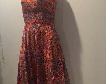 Handmade Vintage dress with pockets!