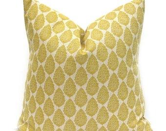 15% Off Sale Yellow Pillow, Yellow Pillow Cover, Gold Pillow Cover, Throw Pillow Cover, Decorative Pillow, Pillows, Tan Pillow, Accent Pillo