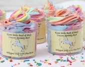 Unicorn, Whipped Soap, Whipped Body Butter, Shea Butter, Unicorn Birthday Bash, Easter Gifts,Party Favors, Kids Birthday, Wholesale