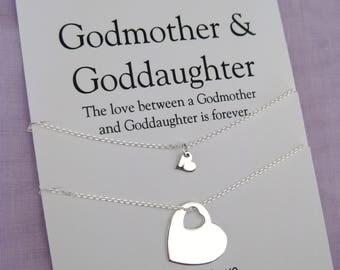 Goddaughter Gifts | Baptism | GODMOTHER Gift | Goddaughter | GODMOTHER Goddaughter |  Godmother Gifts | sterling silver | Baptism Gifts