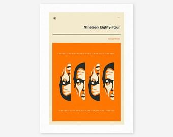 1984 (Giclée Fine Art Print/Photo Print/Poster Print) by Jazzberry Blue