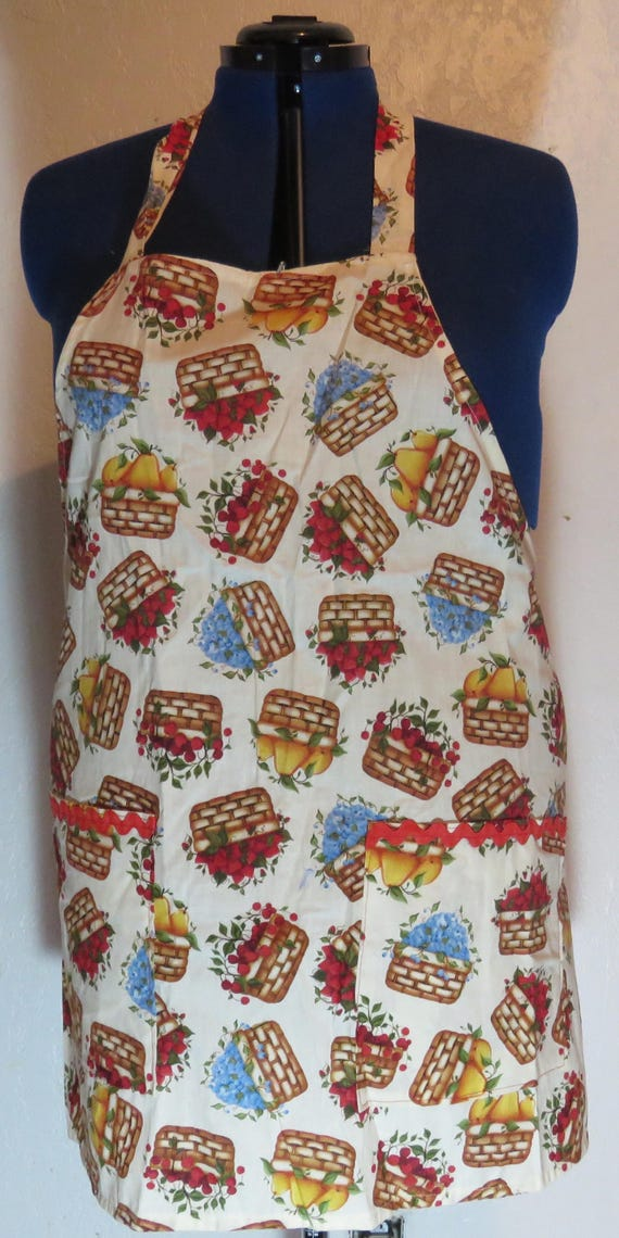Orchard Harvest Basket Full Apron