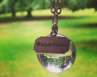 """Dandelion charm inspired by the quote """"Oh life - the thing that happens to us while we're off somewhere else blowing on dandelions"""""""
