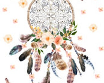 Dream Catcher Changing Pad Cover