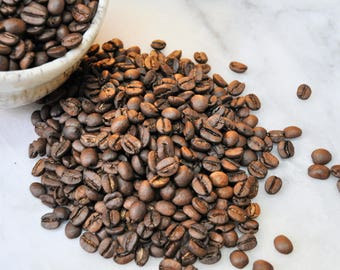 Whole bean coffee, hand roasted, small batch - Brazil Santa Lucia - Bravewood Beanery