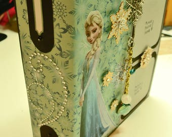 Scrapbook Mini Album Handmade - Frozen Disney Theme
