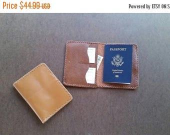 ON SALE Wallet, Leather Passport Holder, Passport Wallet, Travel Wallet, Passport Case, Leather Passport Wallet, Document Wallet