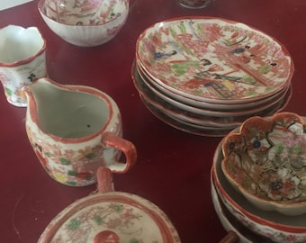 Antique tea peices
