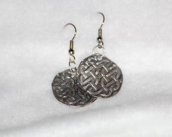 Celtic Sterling Silver Earrings