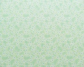 Light mint green cotton fabric with tiny flower print, Haven collection from Blend Fabrics
