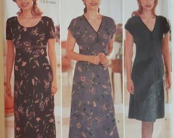 Butterick 5829 Donna Ricco Plus Size Dress Sewing Pattern
