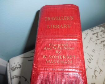 Vintage Traveller's Library Complied and with Notes by W. Somerset Maugham  1933 Book