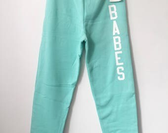 legit babes X russell athletic sweatpants adult size medium deadstock NWT 90s made in USA