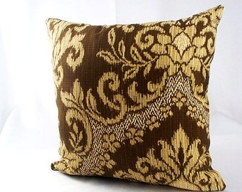 Brown Decorative Pillows, Brown Pillow Covers, Brown Pillows, Brown And Tan Throw  Pillows