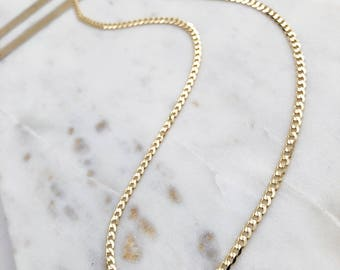 10k Gold Curb Chain