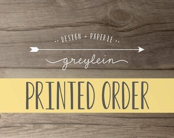 Printed Order Reserved Listing for kellymedve  | *please see listing details
