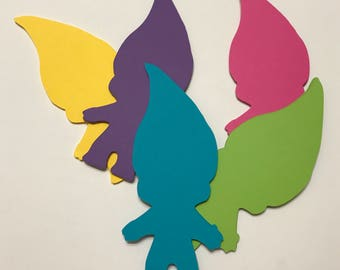 Trolls Cut Outs for Wall Decoration Accessories
