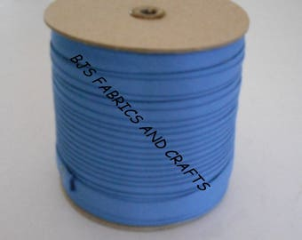 """Double Fold Bias Tape EXTRA WIDE 1/2"""" Federal BLUE 12 Yards Wholesale"""