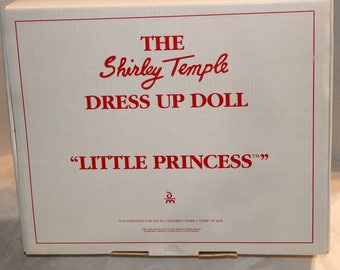 """1994 Danbury Mint Dress Up Doll - Shirley Temple Doll Outfit - """"Little Princess"""" - Mint in Original Packaging Box COA"""