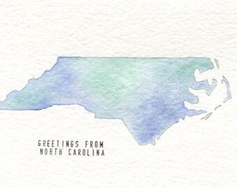 North Carolina Card 2