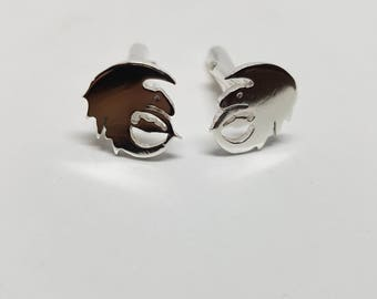 Dragon Cufflinks Sterling Silver Cufflinks