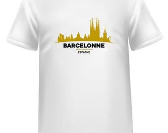 T-shirt silhouettes European cities