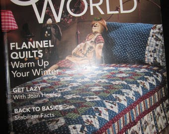 Quilter's World February 2008