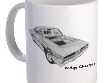 Dodge Charger Mug