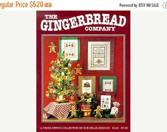 25% OFF SALE SALE Sue Hillis Gingerbread Company Counted Cross Pattern