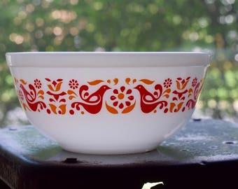 Vintage Pyrex Friendship Mixing Bowl #403