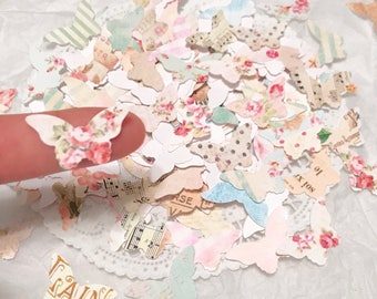Country Chic Butterfly Confetti