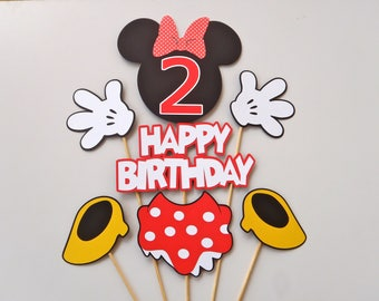 Minnie Mouse Centerpiece Clubhouse Party Theme by FeistyFarmersWife