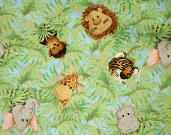 PRE-Order, Jungle Animals, Knitting Bag, Crochet, Knit, Yarn, Wool, Yarn Storage, Yarn Bag with Hole, Grommet, Handle