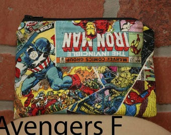 One Snack Sack, Reusable Lunch Bags, Waste-Free Lunch, Machine Washable, Avenger, Back to School, School Lunch, item #SS80