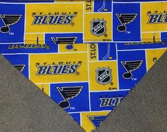 SALE! St. Louis Blues Dog Bandanas!!