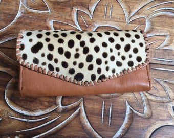 Gary Leather  wallet / woman wallet  / leather purse /.