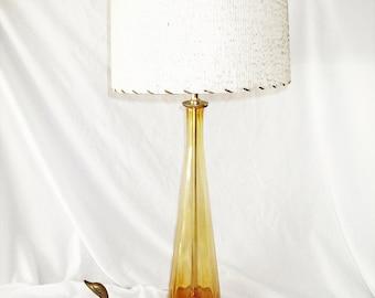 Blown Glass Lamp Etsy