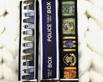 Dalek Keychain, Police Box Keychain, Harry Potter Keychain