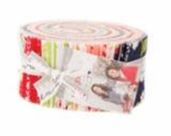 The Good Life Jelly Roll by Bonnie & Camille for Moda