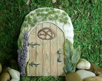 Oak Tree Fairy Door - Fairy Garden - Miniature Garden - Indoor Gardening - Decor - Supply