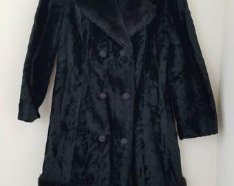 Cut Velvet 60's Coat