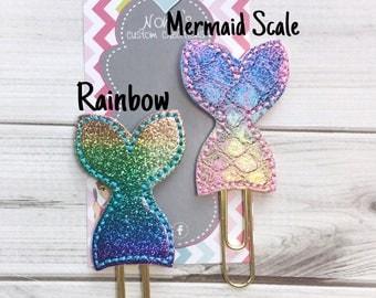 Mermaid Paper Clip - Mermaid Paperclip - Planner Accessories - Mermaid Feltie- Planner Paperclips - Mermaids - Planner Accessory