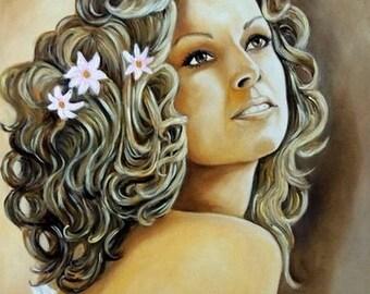 LOULOU portrait painting woman