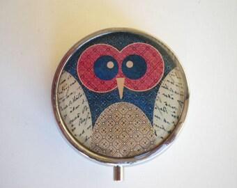 Pill box, Pill case, Owl pill box, Pill container, Jewelry box, Mint case, Pills, Owl box, Owl