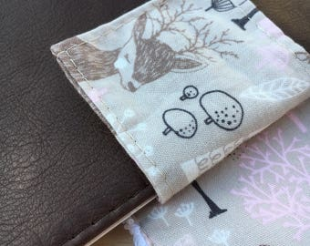 The Deluxe Nappy Wallet/Diaper Clutch - The handmade Leather Nappy Wallet with it all!