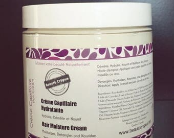 ON SALE Moisturizing Hair Cream - with mango butter, sweet almond and jojoba oils - 250ml